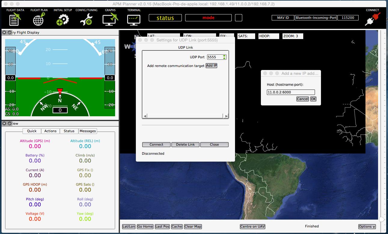 APM Planner 2 0 · Erle Robotics: Erle-brain, a Linux brain for drones